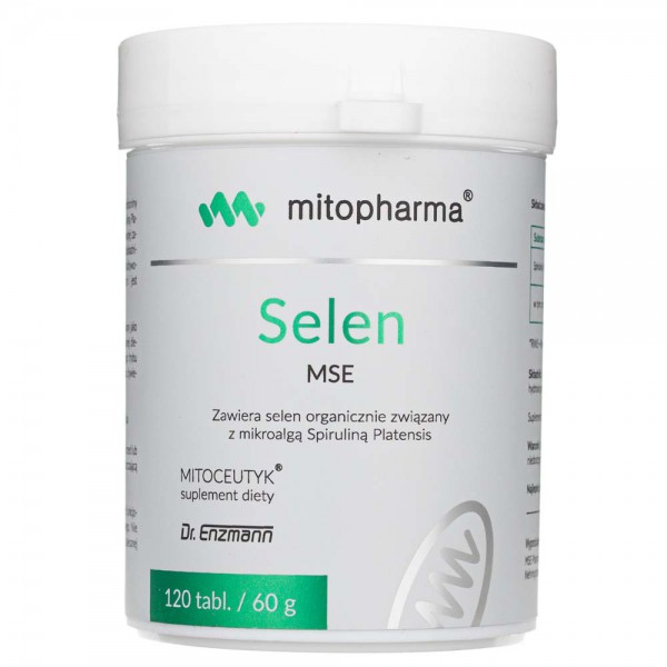 Dr Enzmann Selen MSE - 120 tabletek