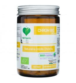 BeOrganic Chrom BIO 100 mcg - 100 tabletek