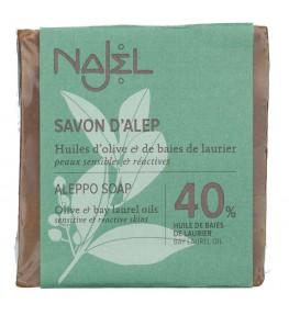 Najel Mydło Aleppo z olejem laurowym 40% - 185 g