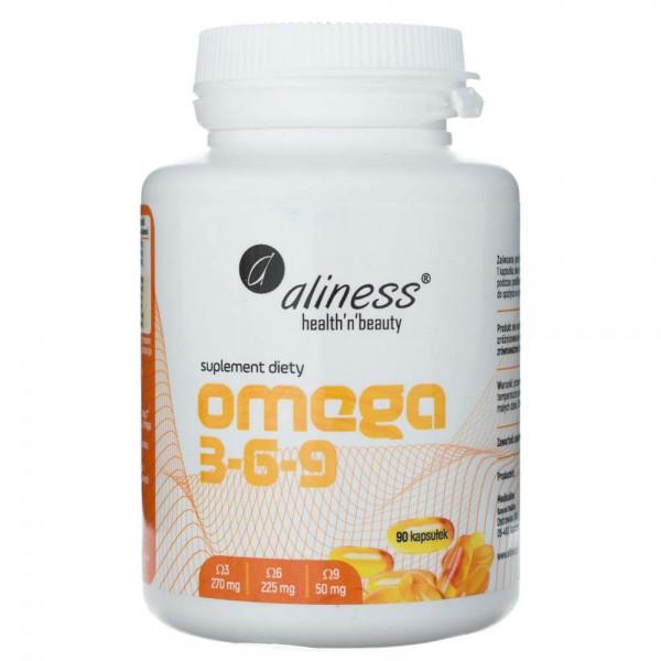 Aliness Omega 3-6-9 270 mg / 225 mg / 50 mg - 90 kapsułek
