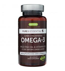 Igennus Omega-3 z D3 - 60 kapsułek
