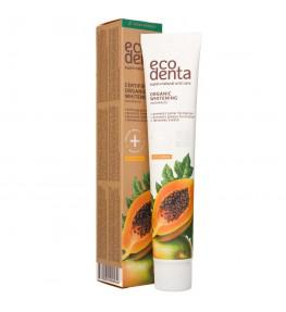 Ecodenta Pasta do zębów wybielająca z ekstraktem papai - 75 ml