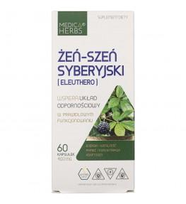 Medica Herbs Eleuthero (Żeń-szeń syberyjski) 400 mg - 60 kapsułek
