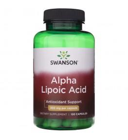 Swanson Kwas Alfa Liponowy (ALA) 300 mg - 120 kapsułek