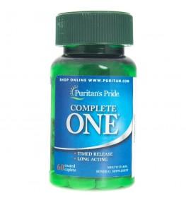 Puritan's Pride Complete One Multiwitaminy - 60 tabletek