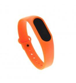 Opaska do Xiaomi Mi Band 2 - pomarańczowa