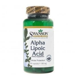 Swanson Kwas Alfa Liponowy (ALA) 100 mg - 120 kapsułek