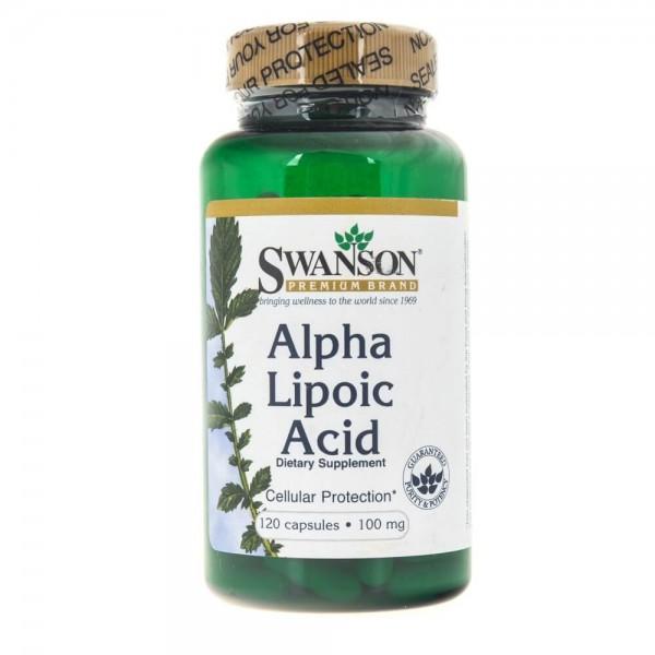 Swanson Ultra Kwas Alfa Liponowy (ALA) 100 mg - 120 kapsułek