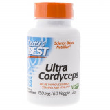 Doctor's Best Ultra Cordyceps 750 mg - 60 kapsułek