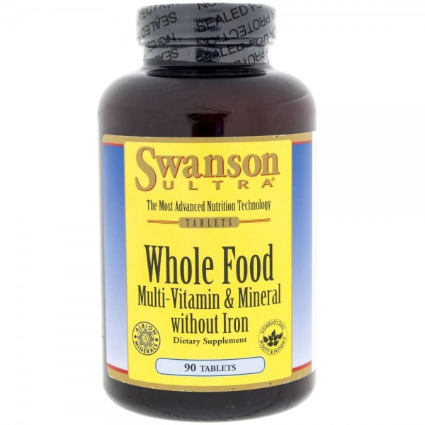 Swanson Whole Food (Multiwitamina) - 90 tabletek