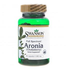 Swanson Full Spectrum Aronia (Chokeberry) 400 mg - 60 kapsułek