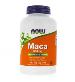 Now Foods Maca 500 mg - 250 kapsułek