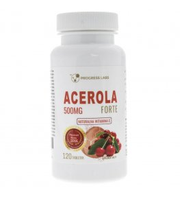 Progress Labs Acerola Forte 500 mg - 120 tabletek