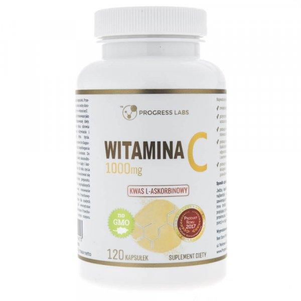 Progress Labs Witamina C 1000 mg - 120 kapsułek