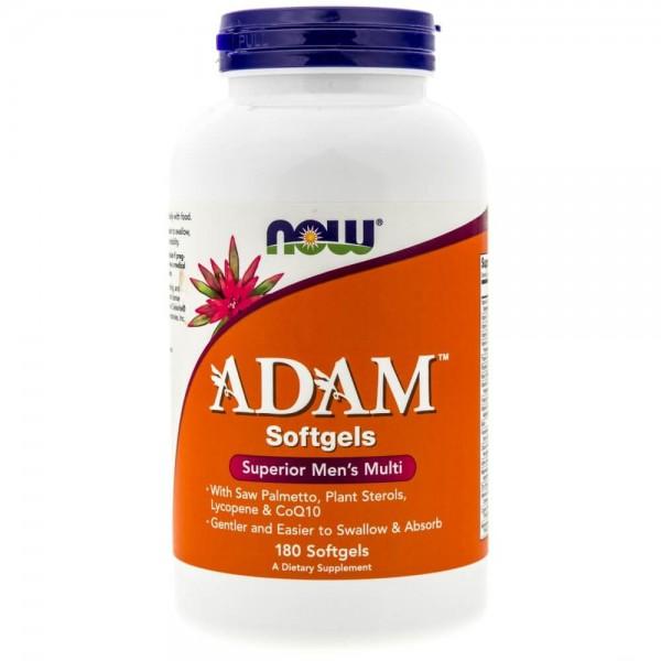 Now Foods ADAM (multiwitaminy dla mężczyzn) - 180 kapsułek