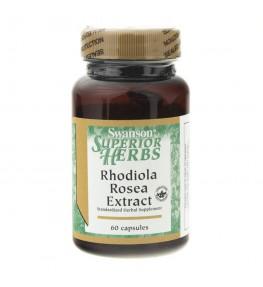 Swanson Rhodiola Rosea Ekstrakt (Różeniec Górski) - 60 kapsułek