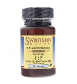 Swanson Ultra Witamina B6 P-5-P 40 mg - 60 kapsułek