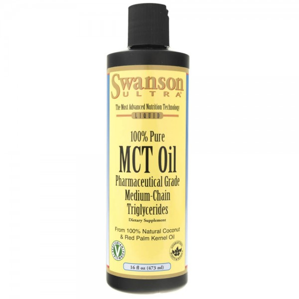Swanson Olej MCT (z oleju z kokosa) - 473 ml