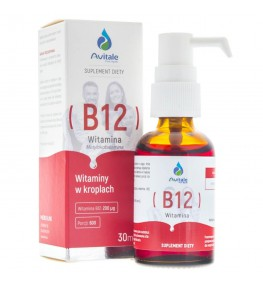 Avitale Witamina B12 w kroplach - 30 ml