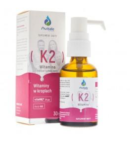 Avitale Witamina K2 20 µg w kroplach - 30 ml