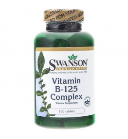 Swanson Balance B-125 kompleks witamin - 100 tabletek