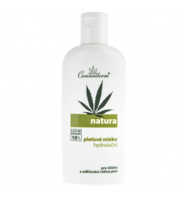 Cannaderm Natura Mleko do demakijażu - 200 ml