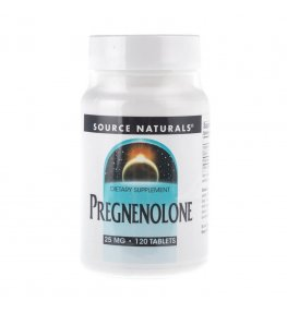 Source Naturals Pregnenolon 25 mg - 120 tabletek