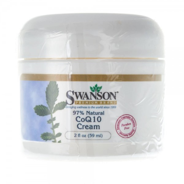 Swanson Koenzym Q10 w kremie - 59 ml