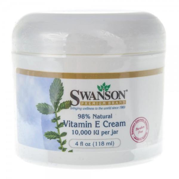 Swanson Witamina E w kremie - 118 ml
