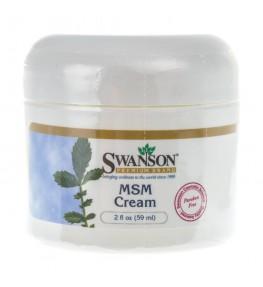 Swanson MSM w kremie - 59 ml