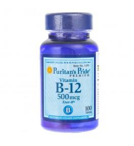 Puritan's Pride Witamina B-12 500 mcg - 100 tabletek