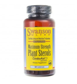 Swanson Maximum Strength Plant Sterols CardioAid - 60 kapsułek