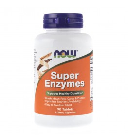 Now Foods Super Enzymes - 90 tabletek