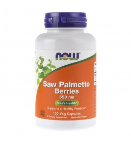 Now Foods Saw Palmetto Berries (Palma Sabałowa) 550 mg - 100 kaps