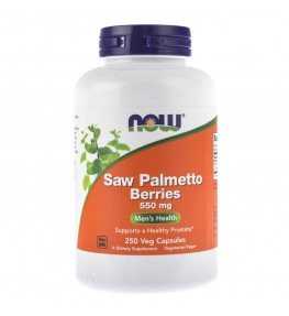 Now Foods Saw Palmetto Berries (Palma Sabałowa) 550 mg - 250 kapsułek
