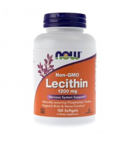 Now Foods Lecytyna (Lecithin) 1200 mg - 100 kapsułek
