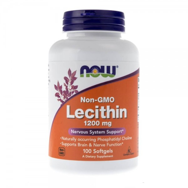 Now Foods Lecytyna (Lecithin) 12000 mg - 100 kapsułek