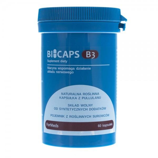 Formeds Bicaps B3 (niacyna) - 60 kapsułek