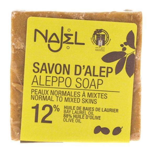 Najel Mydło Aleppo z olejem laurowym 12% - 200 g