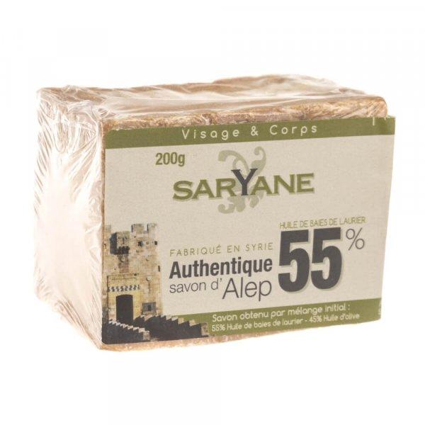 Mydło w kostce Aleppo 55% oleju laurowego 500 ml - Saryane