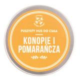 Mus do ciała Konopie i Pomarańcza 150 ml - Cztery Szpaki