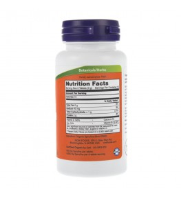 Now Foods Spirulina - 100 tabletek