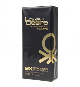 SHS Love & Desire Gold feromony dla mężczyzn - 100 ml