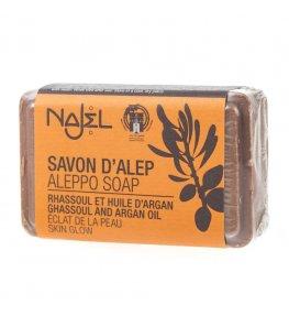 Najel Mydło z Aleppo z glinką rhassoul i olejem arganowym - 100 g