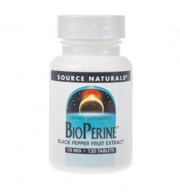 Source Naturals Bioperine 10 mg - 120 tabletek