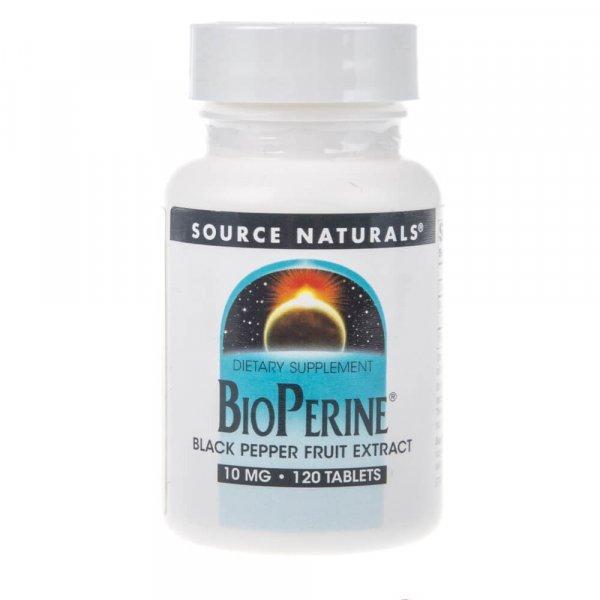 Source Naturals Bioperine 10 mg - 120 tabletek