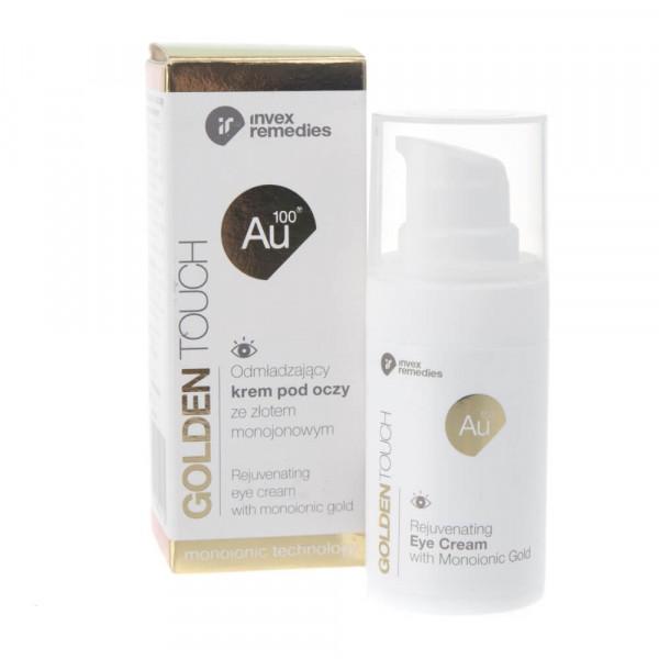 Invex Remedies Odmładzający krem pod oczy ze złotem monojonowym 15 ml