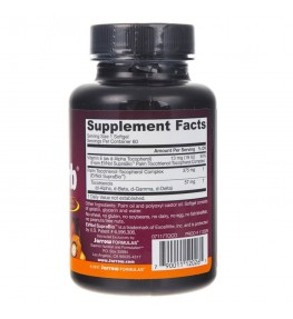 Jarrow Formulas Toco-Sorb (naturalna witamina E) - 60 kapsułek