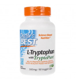 Doctor's Best L-Tryptophan TryptoPure® 500 mg - 90 kapsułek