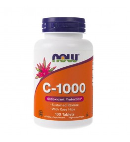 Now Foods Witamina C (C-1000) 1000 mg - 100 tabletek